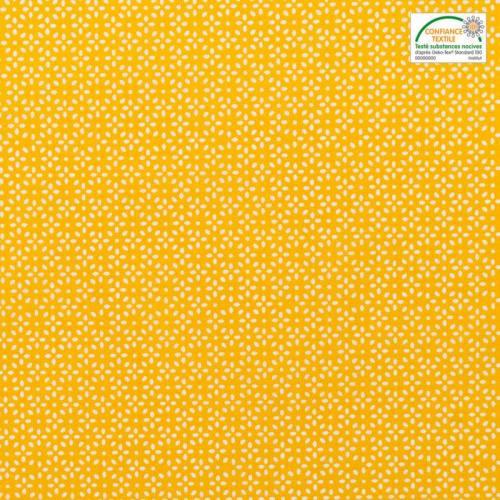 Coton jaune fleur de grain de riz