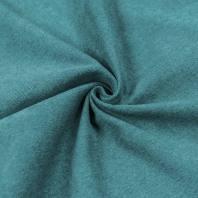 Toile aspect velours vert opaline