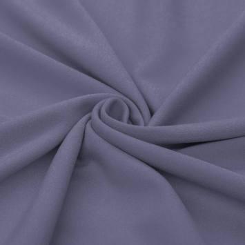 Tissu crêpe bleu horizon