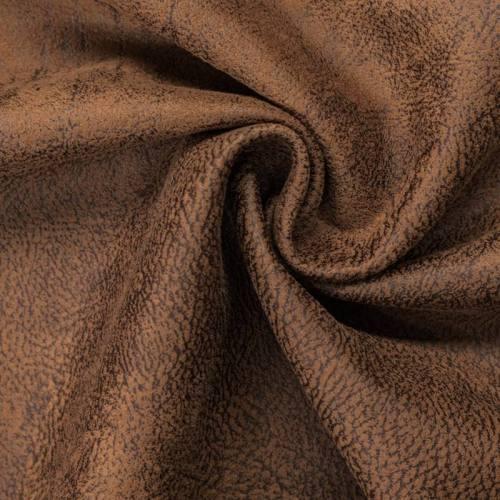 Simili cuir bronco marron