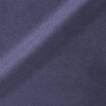 Ameublement velours bleu