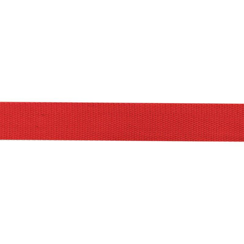 Sangle Coton 30mm rouge