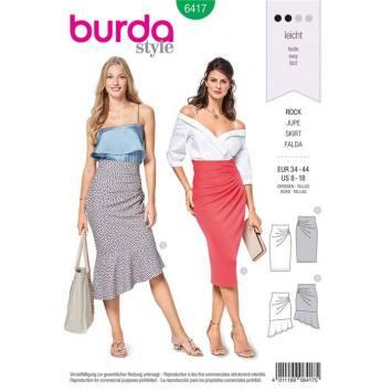 Patron Burda 6417