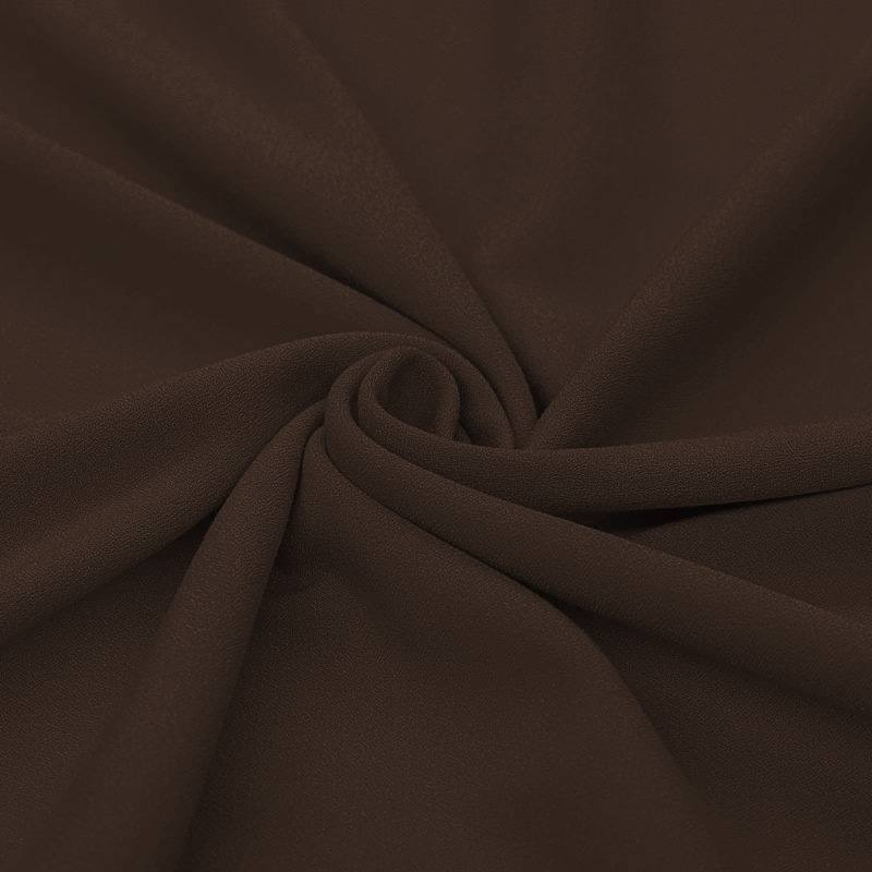 Tissu crêpe chocolat