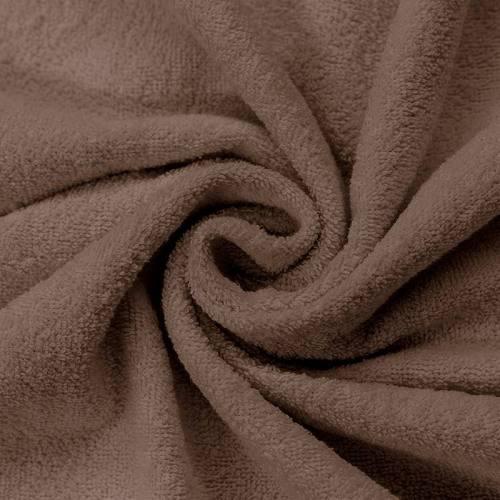 Tissu éponge taupe