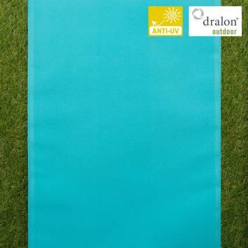 Toile transat uni turquoise