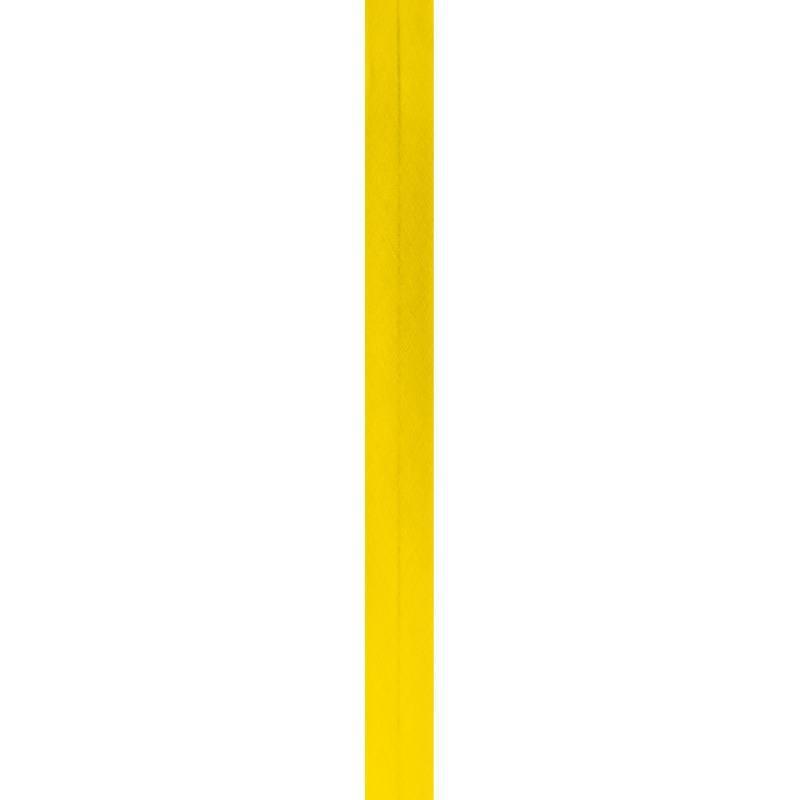 Bobine de biais 20mm 5m jaune soleil