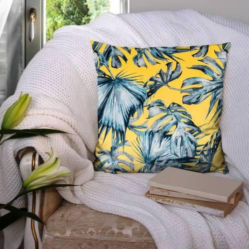 Velours botanic jaune