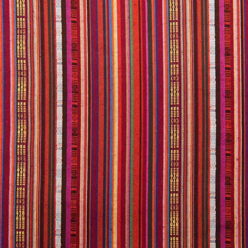 Tissu mexicain nuances de rouge
