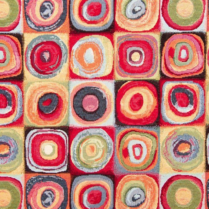 Jacquard multicolore motif Kandy