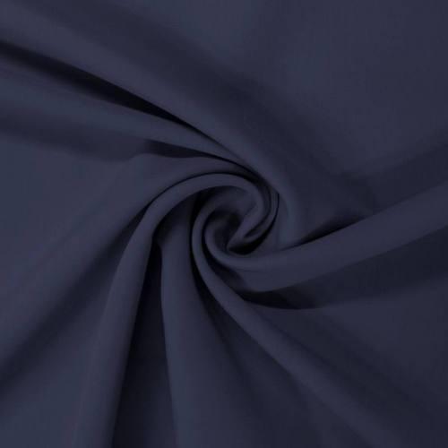 Gabardine elona bleu marine
