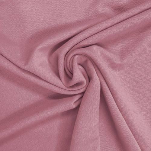 Jersey crêpe vieux rose