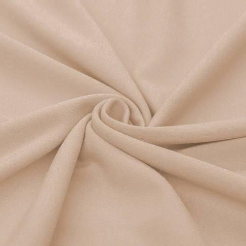 Tissu crêpe chair
