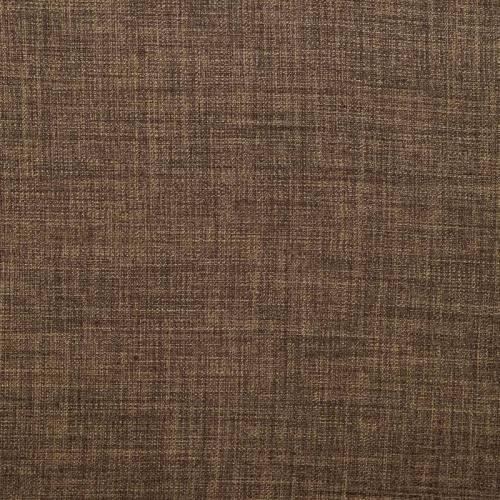 Tissu aspect lin noisette