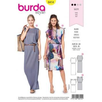 Patron Burda 6414 : Haut et tunique Taille 32-42