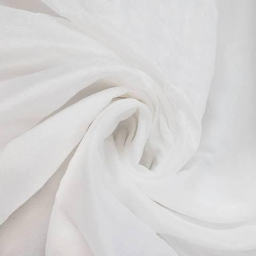 Voile blanc grande largeur
