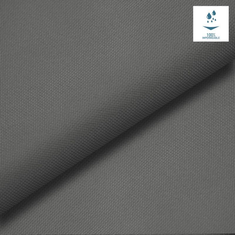 Tissu imperm able oxford gris fonc pas cher tissus price - Tissus exterieur impermeable ...
