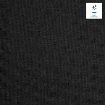 Tissu imperméable noir