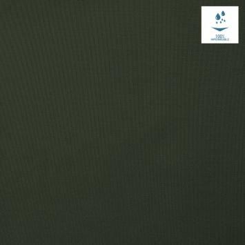 Tissu imperméable léger vert sapin