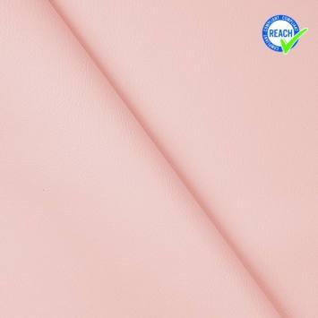 Simili cuir uni green rose pastel