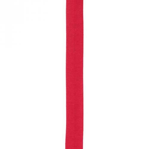 Biais replié jersey rouge