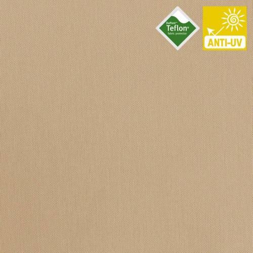Tissu exterieur téflon natté beige