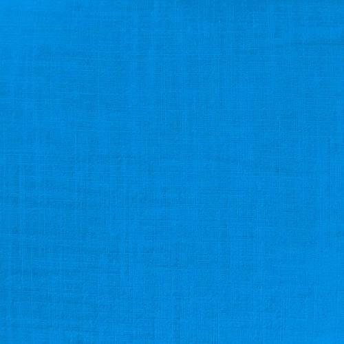 Coton aspect lin turquoise