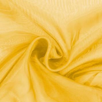 Organza jaune soleil