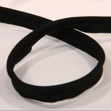 Passepoil noir 45 mm