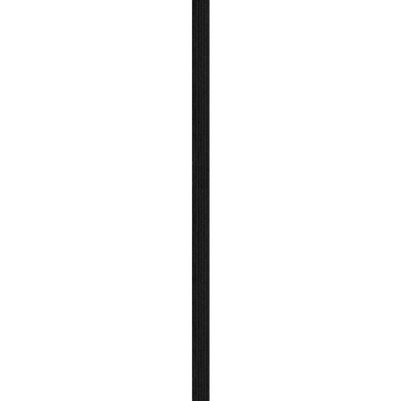 Elastique noir 8,5mm