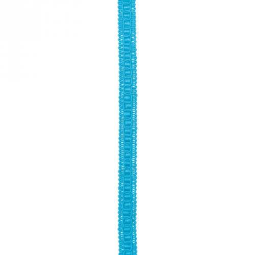 Galon fantaisie ameublement 15mm turquoise