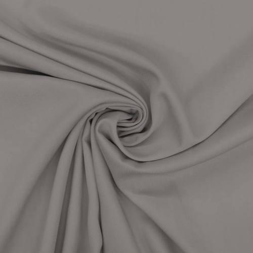 Tissu viscose twill gris