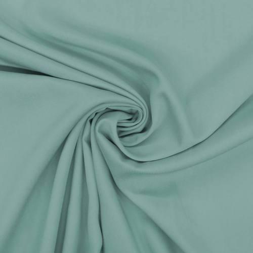 Tissu viscose twill bleu givré