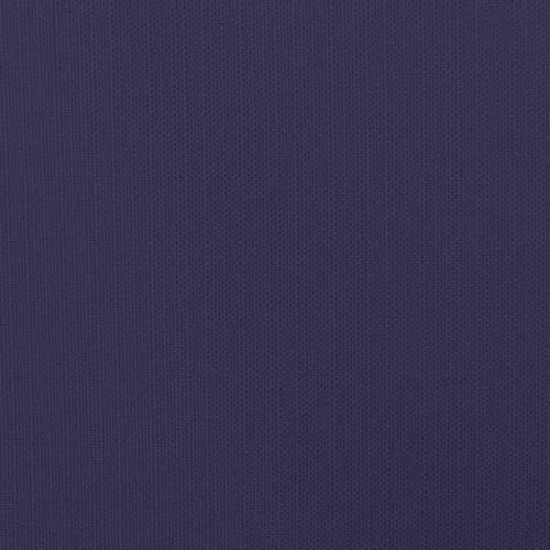 Toile polycoton aspect lin bleu violet