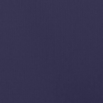 Toile polycoton aspect lin bleu égyptien