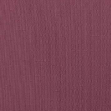 Toile polycoton aspect lin prune