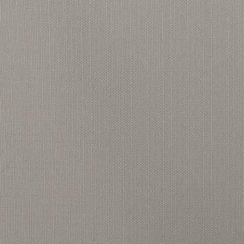 Toile polycoton aspect lin gris