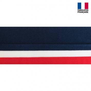 Bord-côte bleu blanc rouge 3,5cm
