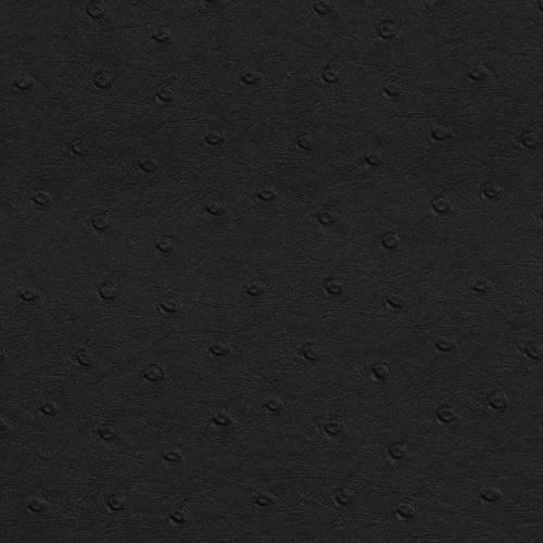 Simili cuir peau d'autruche noir