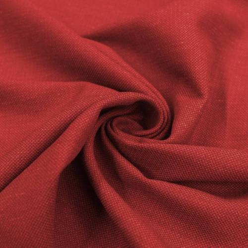 Toile viscose chiné rouge