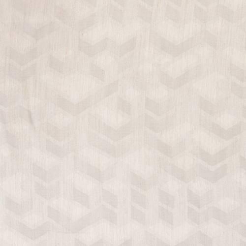 Jacquard couleur naturel motif géométrique naturel