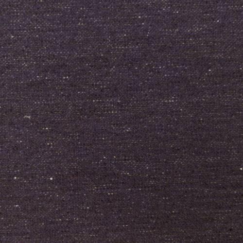 Toile viscose chiné marron et violette