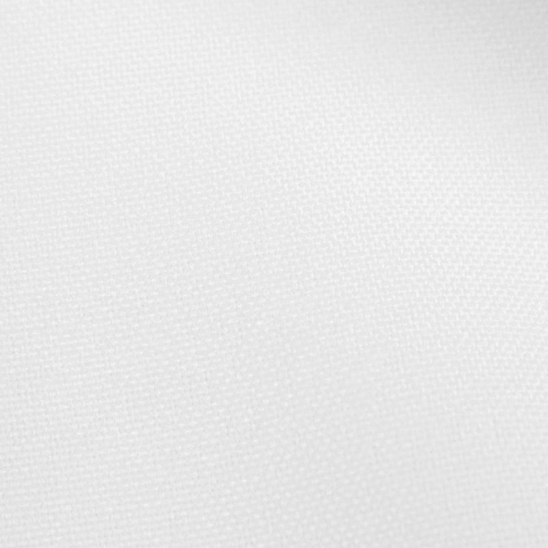 Rouleau 27m Burlington infroissable Oeko-tex blanc