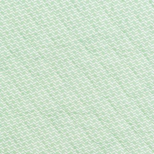 Tissu matelassé double face motif chewonki vert