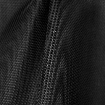 Toile textilène noire