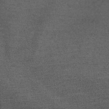 Toile coton ignifugée m1 unie gris foncé