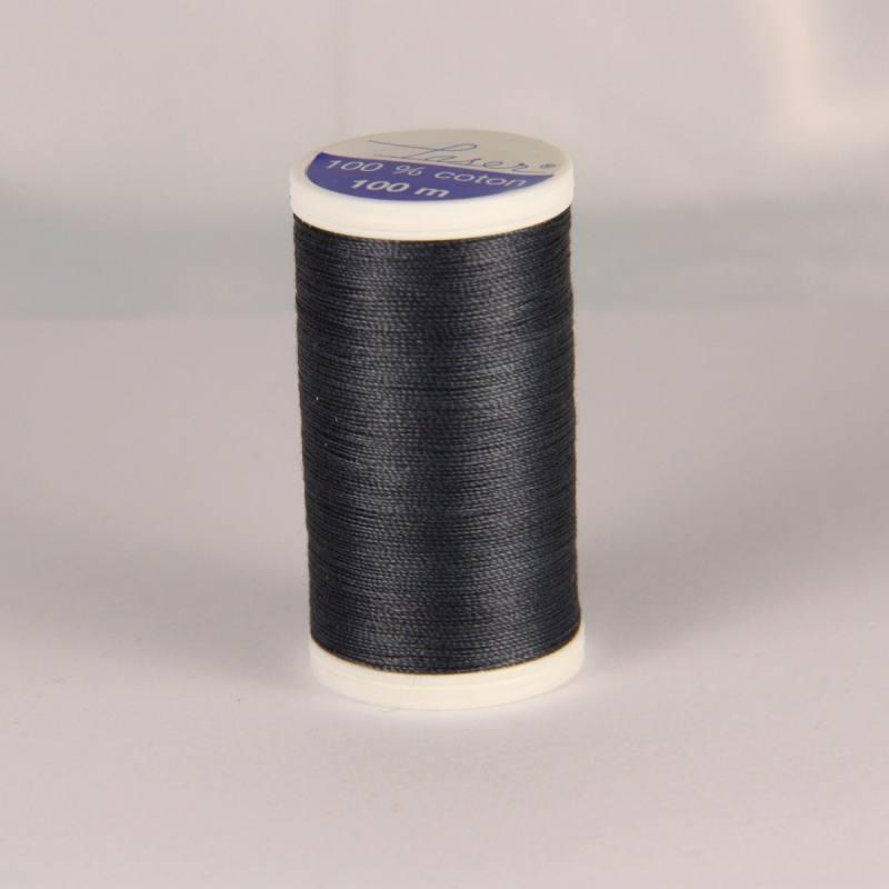 Fil coton laser gris 3106