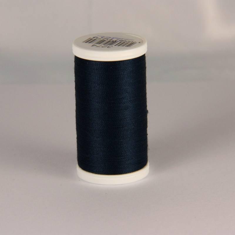 Fil coton laser bleu nuit 3274