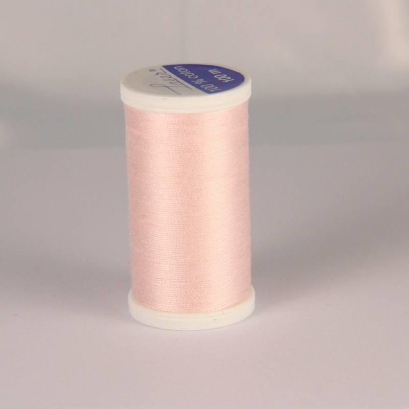 Fil coton laser rose pâle 3419