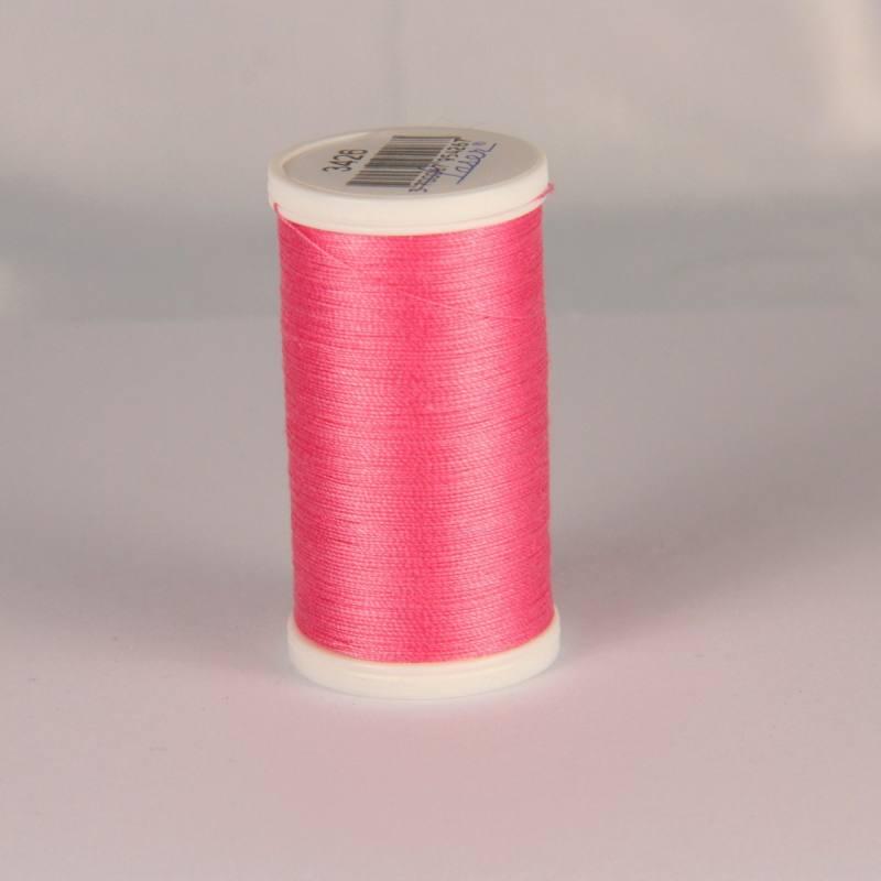 Fil coton laser rose 3426